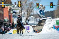 Leadville, CO Skijoring 2017